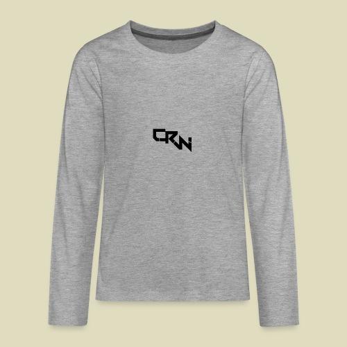 Logo - Teenager Premium Langarmshirt