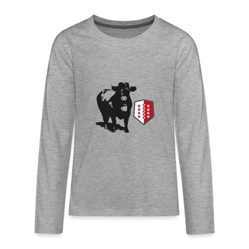 Vache - Cow - Teenager Premium Langarmshirt
