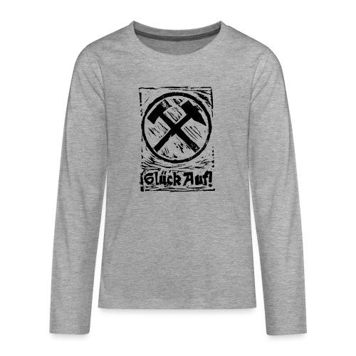 GlueckAuf - Teenager Premium Langarmshirt