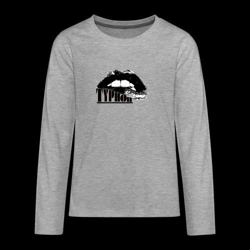 Typhon Original Logo - Teenagers' Premium Longsleeve Shirt