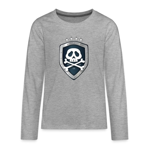 champion's league skull 06 - T-shirt manches longues Premium Ado