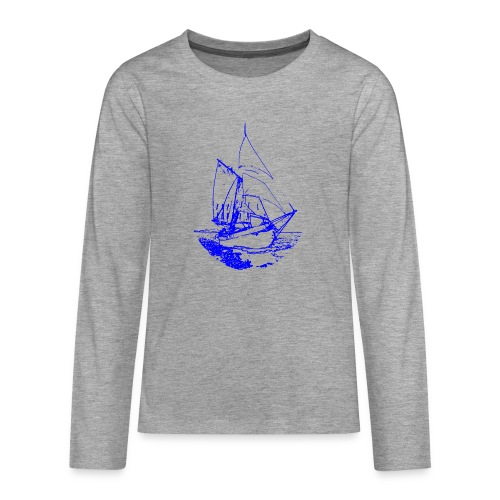 Siluette GIF - Teenager Premium Langarmshirt