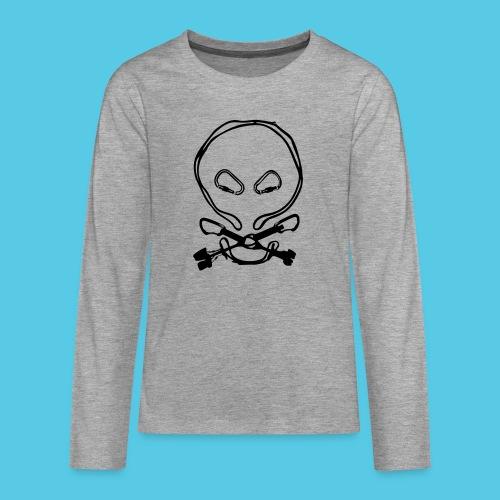 Totenkopf - Teenager Premium Langarmshirt
