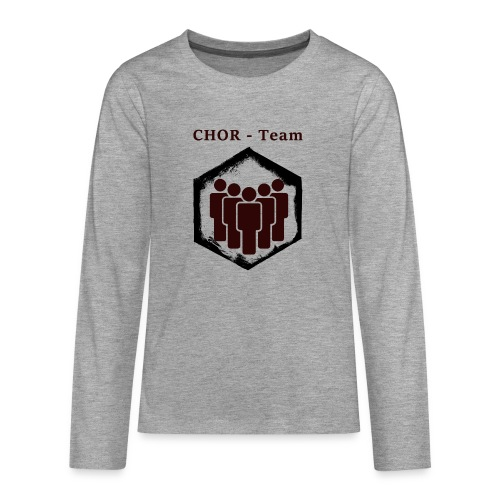 ChorTeam - Teenager Premium Langarmshirt