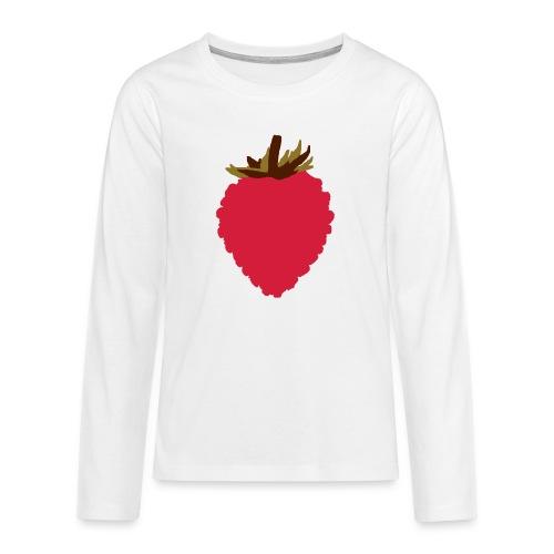 Wild Strawberry - Teenagers' Premium Longsleeve Shirt