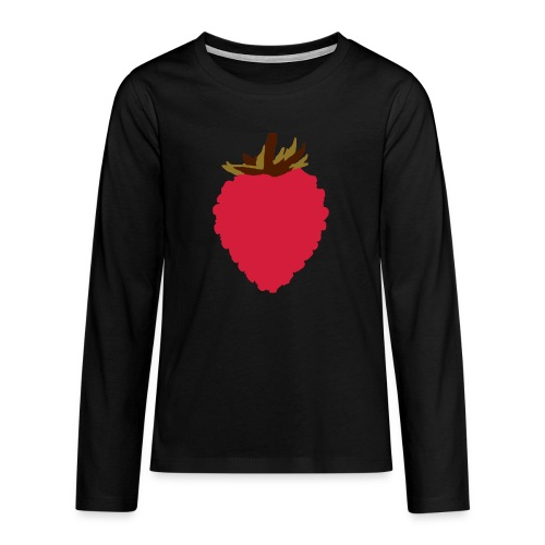 Wild Strawberry - Teenagers' Premium Longsleeve Shirt
