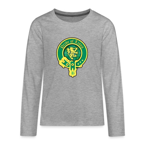 pride of lions logo - Teenager Premium Langarmshirt