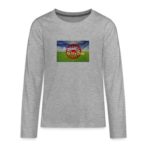flagromaniinmydna - Långärmad premium T-shirt tonåring