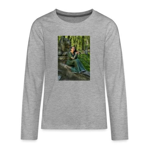 Stone Guardian - Koszulka Premium z długim rękawem dla nastolatków