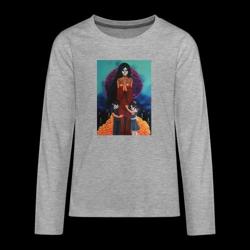 los fieles difuntos - Teenagers' Premium Longsleeve Shirt