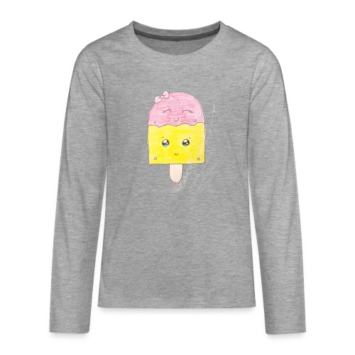 Kids for Kids: Icecream - Teenager Premium Langarmshirt
