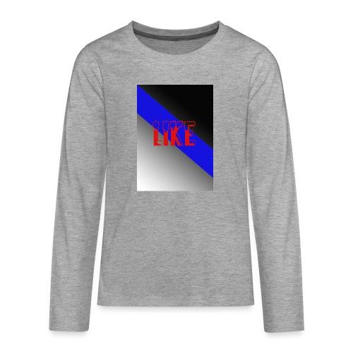 like - T-shirt manches longues Premium Ado