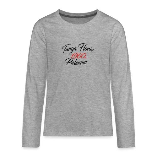Anciennes courses Italiennes - T-shirt manches longues Premium Ado