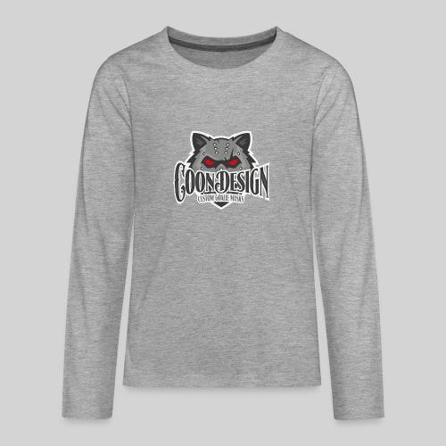 CoonDesign - Teenager Premium Langarmshirt