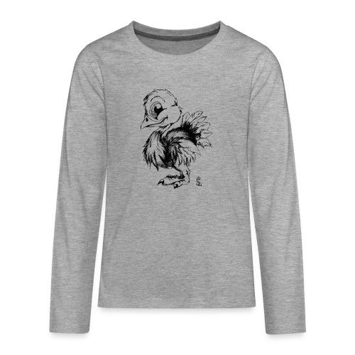 Autruchon - T-shirt manches longues Premium Ado