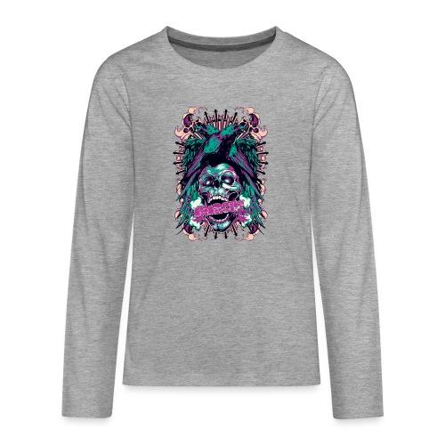 Anarchy - Camiseta de manga larga premium adolescente