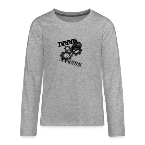 TENNIS WORKOUT - Teenagers' Premium Longsleeve Shirt
