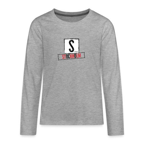 stockholm - Teenagers' Premium Longsleeve Shirt