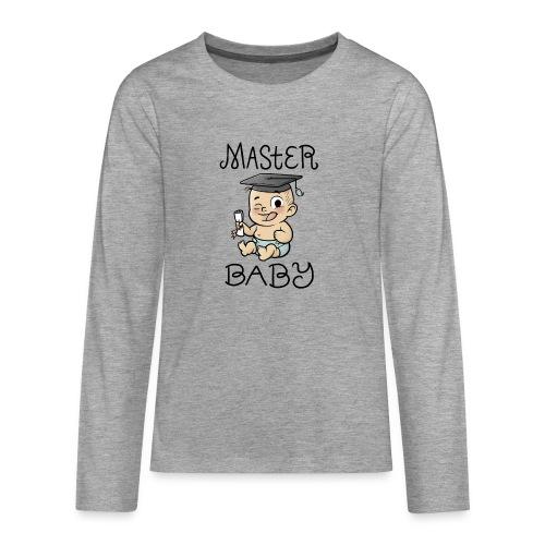 Master Baby - Teenager Premium Langarmshirt