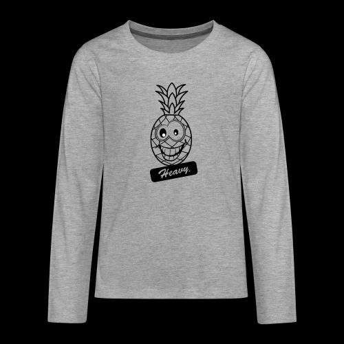 Design Ananas Heavy - T-shirt manches longues Premium Ado