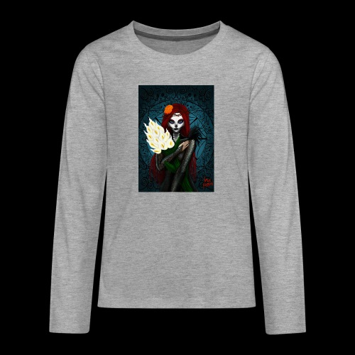 Death and lillies - Teenagers' Premium Longsleeve Shirt