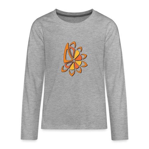spicchi di sole caldo multicolore - Maglietta Premium a manica lunga per teenager