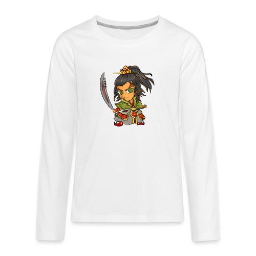 rusty warrior - Teenager Premium Langarmshirt