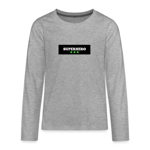 Lätzchen Superhero - Teenager Premium Langarmshirt