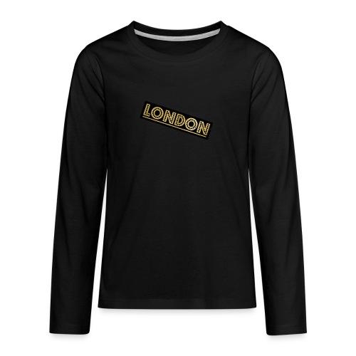 LONDON - Teenagers' Premium Longsleeve Shirt