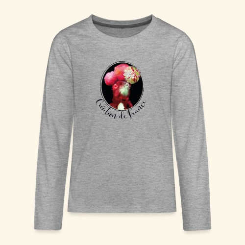 Création de France - T-shirt manches longues Premium Ado