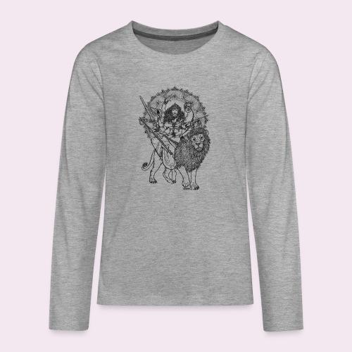 Durga - Teenager Premium Langarmshirt