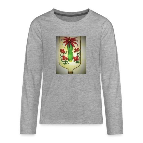 Alcoholism - Teinien premium pitkähihainen t-paita