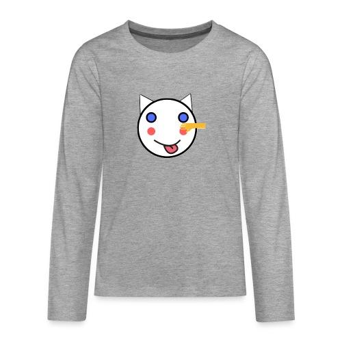 Alf Cat With Friend | Alf Da Cat - Teenagers' Premium Longsleeve Shirt