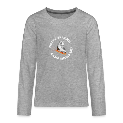 1st International Figure Skating Camp in Rheine - Teenager Premium Langarmshirt