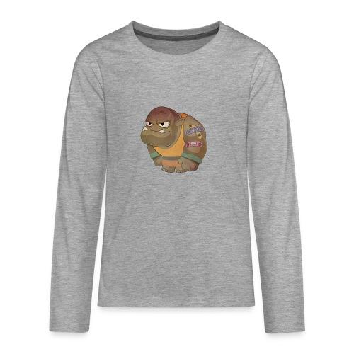 Brabucon00001 - Camiseta de manga larga premium adolescente