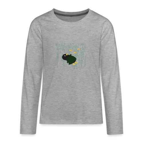 Pingouin Bullet Time - T-shirt manches longues Premium Ado
