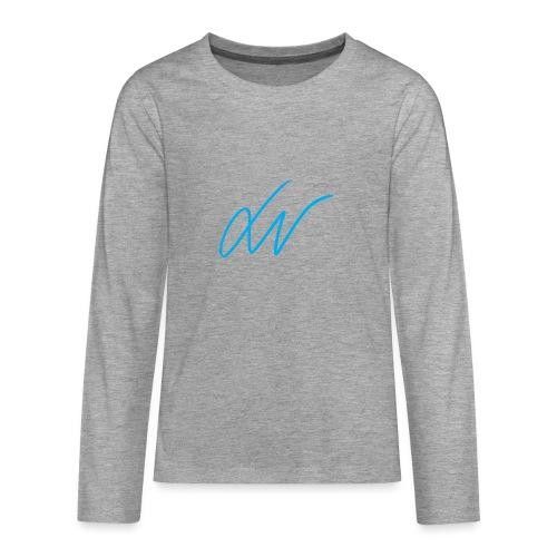 LavoroMeglio - Maglietta Premium a manica lunga per teenager