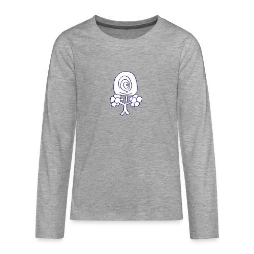 Poppetje 1 oog - Teenager Premium shirt met lange mouwen