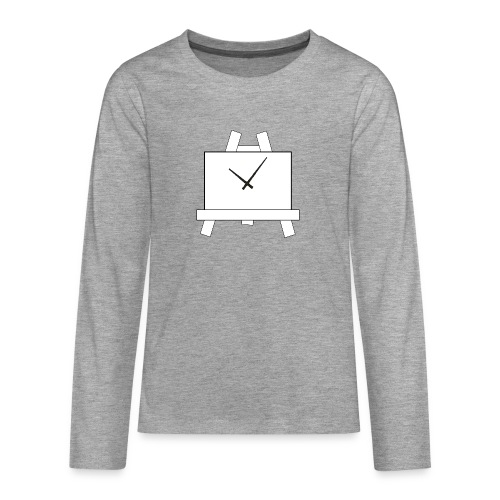 Time 4 Art - Teenager Premium shirt met lange mouwen