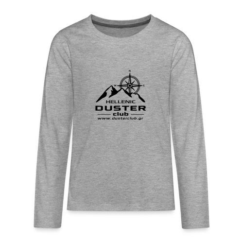 DUSTER TELIKO bw2 - Teenagers' Premium Longsleeve Shirt