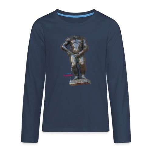 mannekenpis Real Big ♀♂ | 撒尿小童 - T-shirt manches longues Premium Ado
