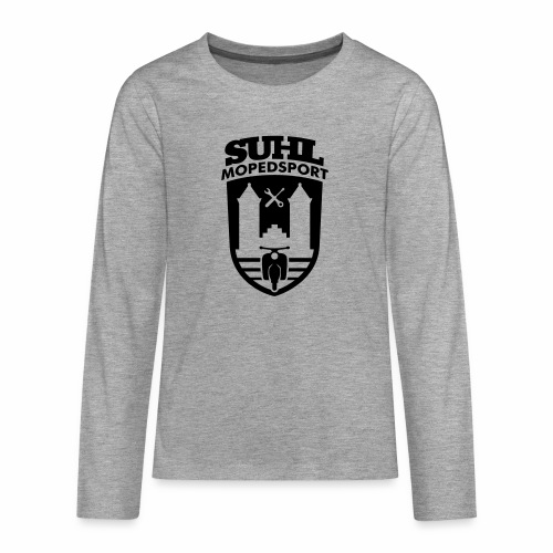 Suhl Mopedsport Schwalbe 2 Logo - Teenagers' Premium Longsleeve Shirt