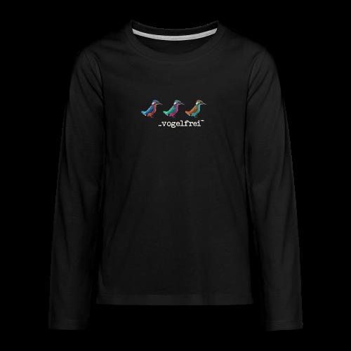 geweihbaer Vogelfrei - Teenager Premium Langarmshirt