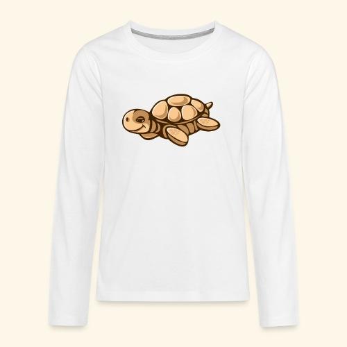 schildkroete - Teenager Premium Langarmshirt