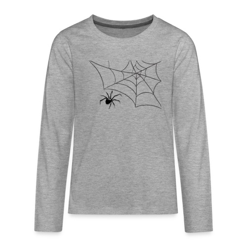 Spider - Långärmad premium T-shirt tonåring