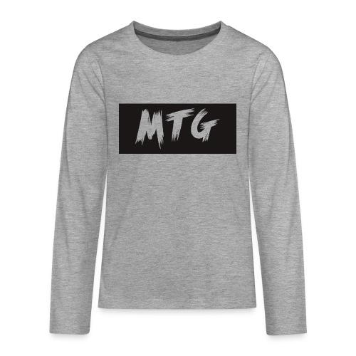 SHIRTLOGO - Teenagers' Premium Longsleeve Shirt