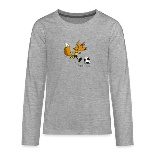 Valmy mascotte - T-shirt manches longues Premium Ado