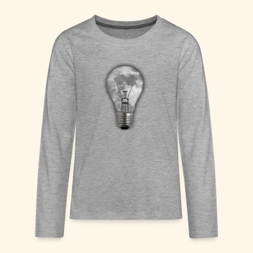 moon bulb - Camiseta de manga larga premium adolescente
