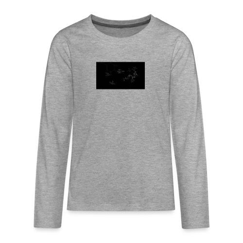 FessorVidenskabsTrøjen - Teenager premium T-shirt med lange ærmer