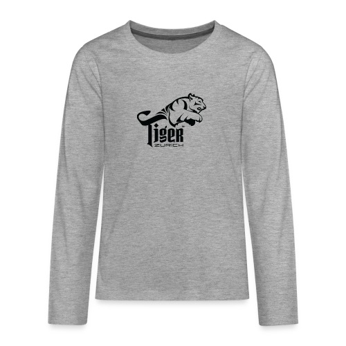 TIGER ZURICH digitaltransfer - Teenager Premium Langarmshirt